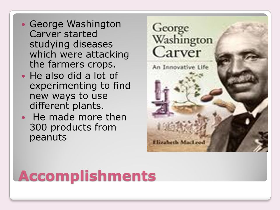 a biography of george washington carver born a slave in diamond grove missouri Matthew barclay biography george washington carver was born into slavery july12th 1864 in diamond grove missouri he lived on a plantation until he was about 10 or 12 to get an education he became.