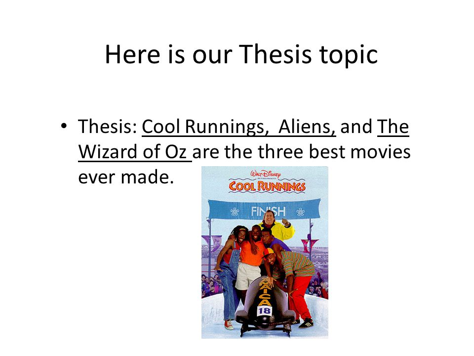 Wizard of oz essay thesis