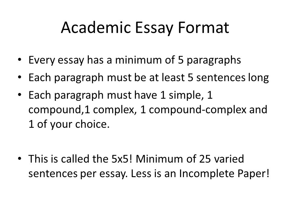 Go The Distance: Academic Writing – Paragraphs