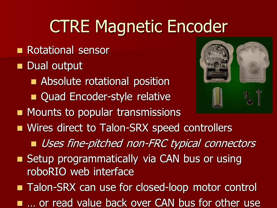 CTRE+Magnetic+Encoder+Rotational+sensor+Dual+output frc control system 2016 beta ppt video online download FRC Accelerometer Wiring at edmiracle.co