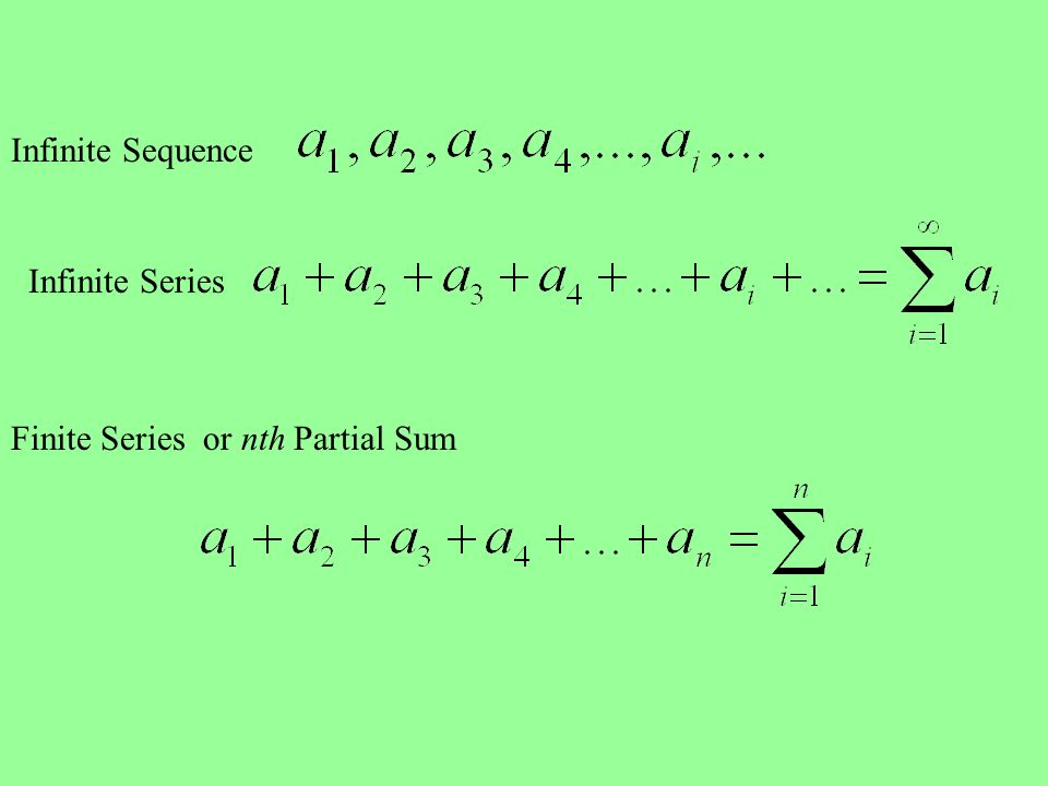 how to find the nth term of partial sum