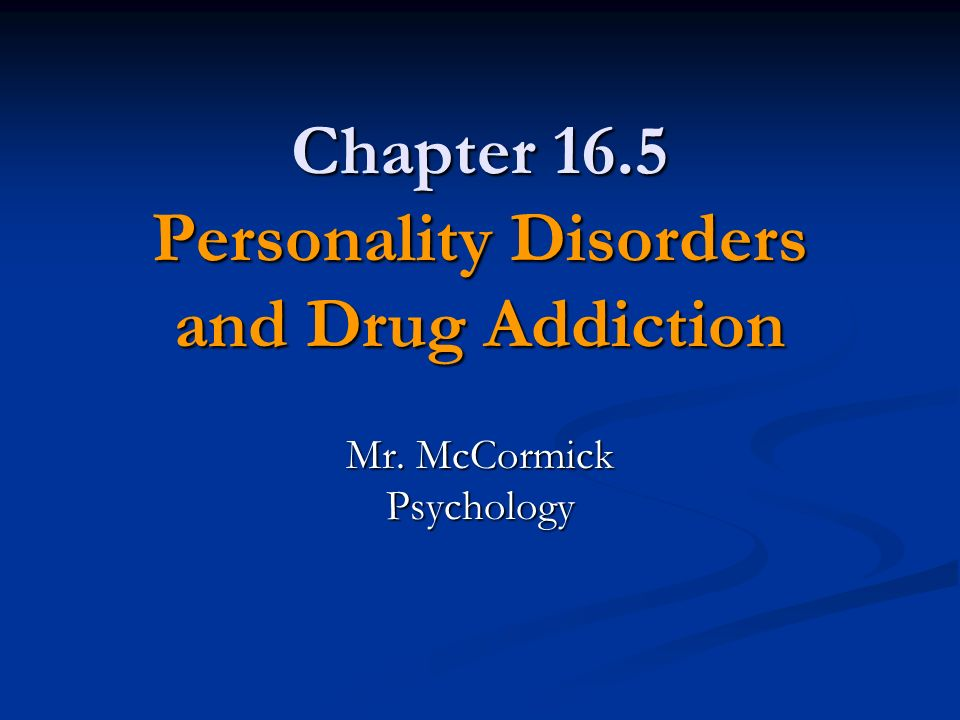 paranoid personality disorder and substance use Paranoia can 'destroy ya': paranoid personality disorder creates destructive effects and treatment is brought on by either mental illness or drug use.