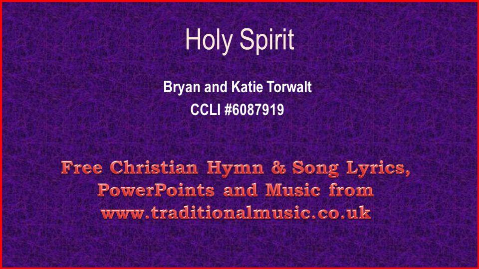 Bryan and Katie Torwalt CCLI # - ppt video online download