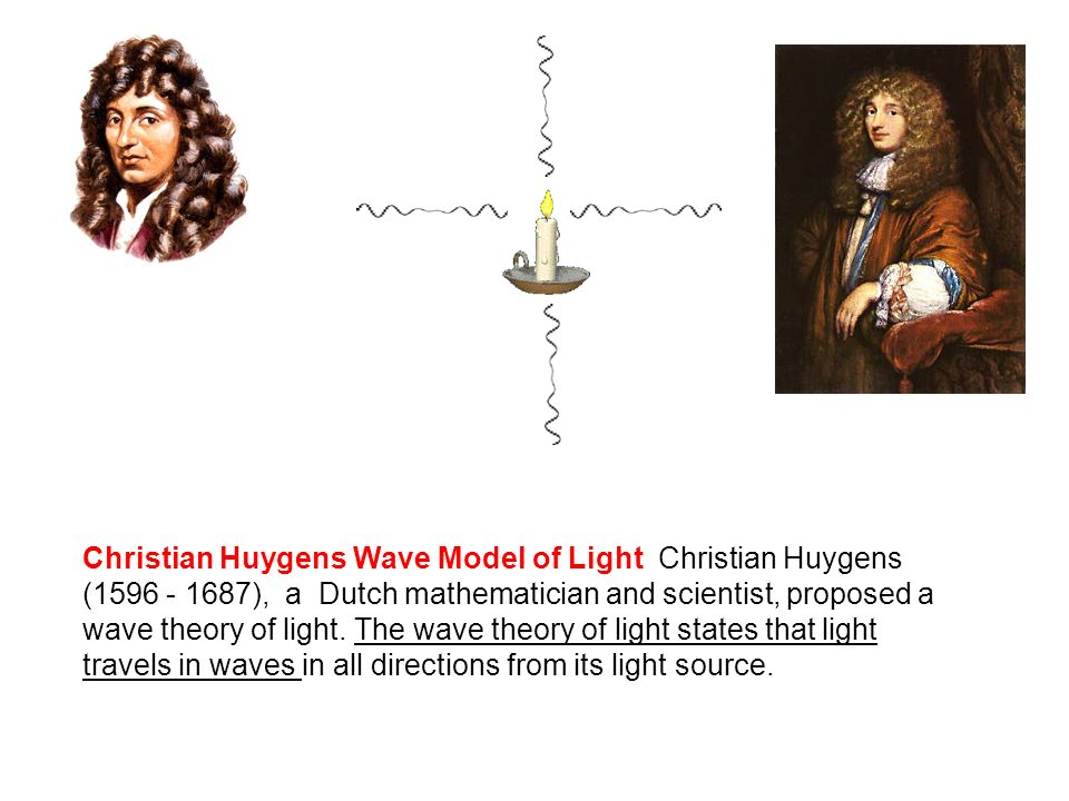 light wave theory christiaan huygens biography