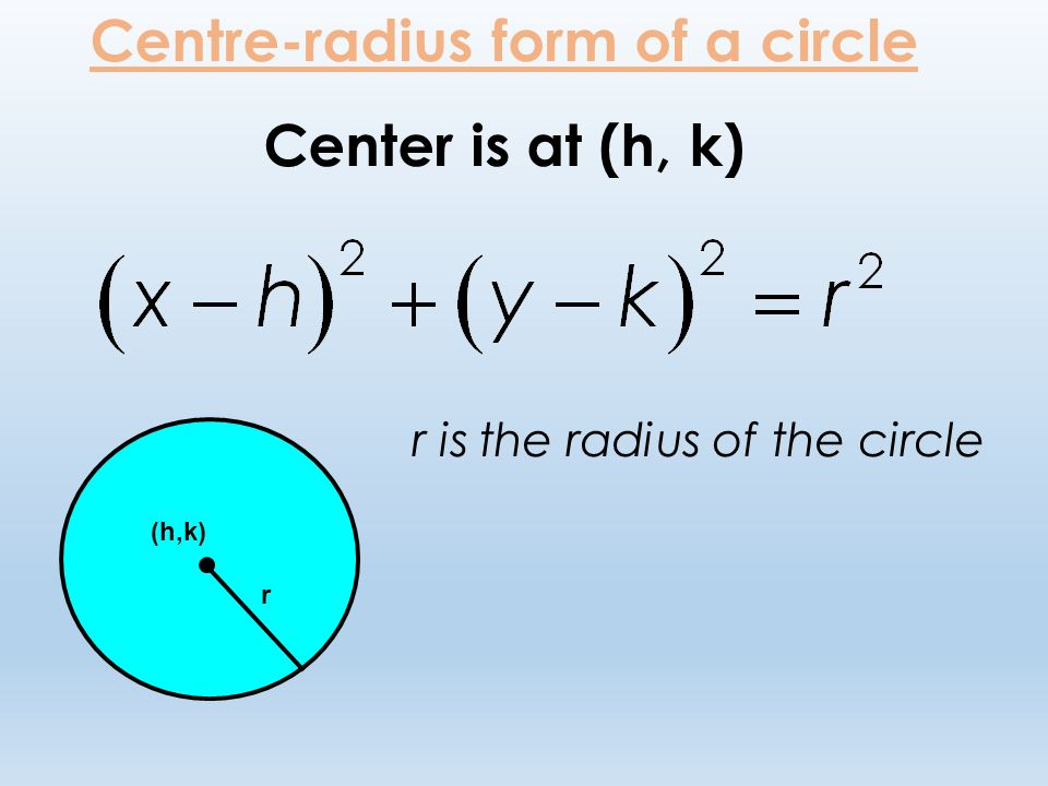 Equations of Circles. - ppt video online download