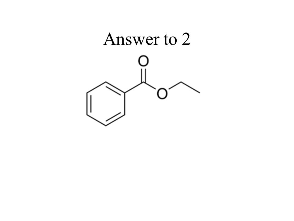 Answer to 2