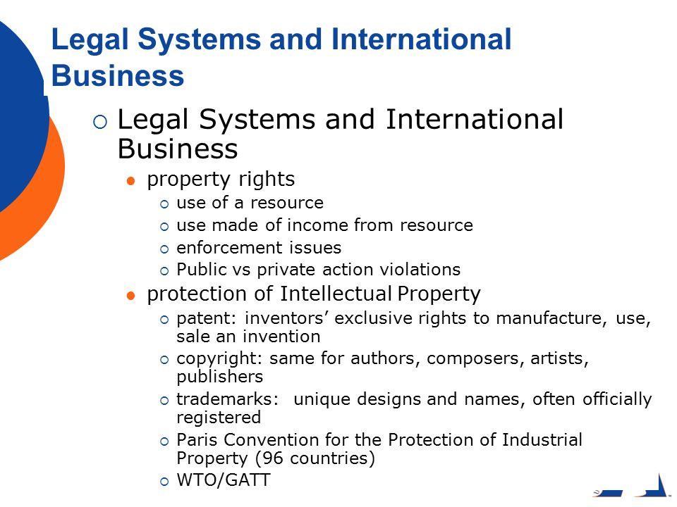gatt and wto international business law Introduction to international business law contents part 1: legal environment of international business gatt & wto history development.