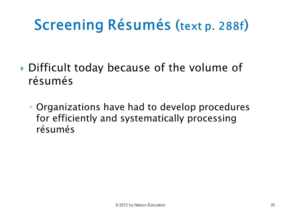 chapter 7 selection i applicant screening ppt video online download