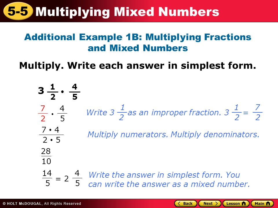 write each improper fraction as a mixed number Online calculator for converting improper fractions to mixed numbers this step-by-step online calculator will help you understand how to convert improper fractions to mixed numbers.