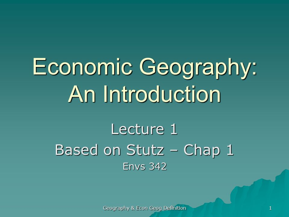 geography introduction Introduction to the geography universe the geography universe defines terms  related to geographical concepts, infrastructure, products and services.