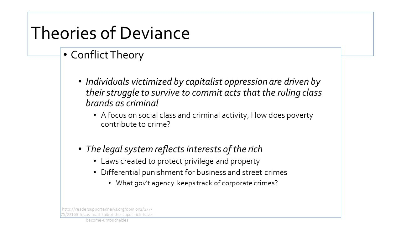 Social control and deviance ppt video online download 14 theories buycottarizona Image collections