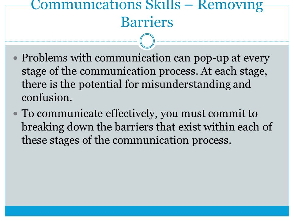 stages of communication process pdf