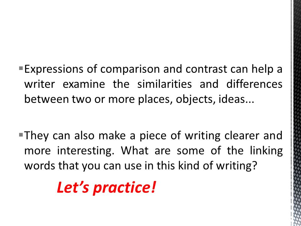 compare between two cities essay Before you begin to draft a compare and contrast essay comparison essays can be constructed in two ways cities have lots of great restaurants city life offers culturally diverse populations cities contain theaters, sporting events, and other activities.