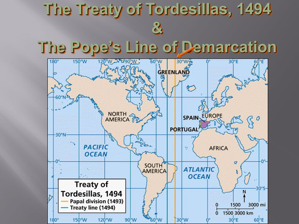 the treaty of tordesillas Go back to the age of exploration read treaty of tordesillas -- bbc the treaty of tordesillas, signed at tordesillas on june 7, 1494, and authenticated at.