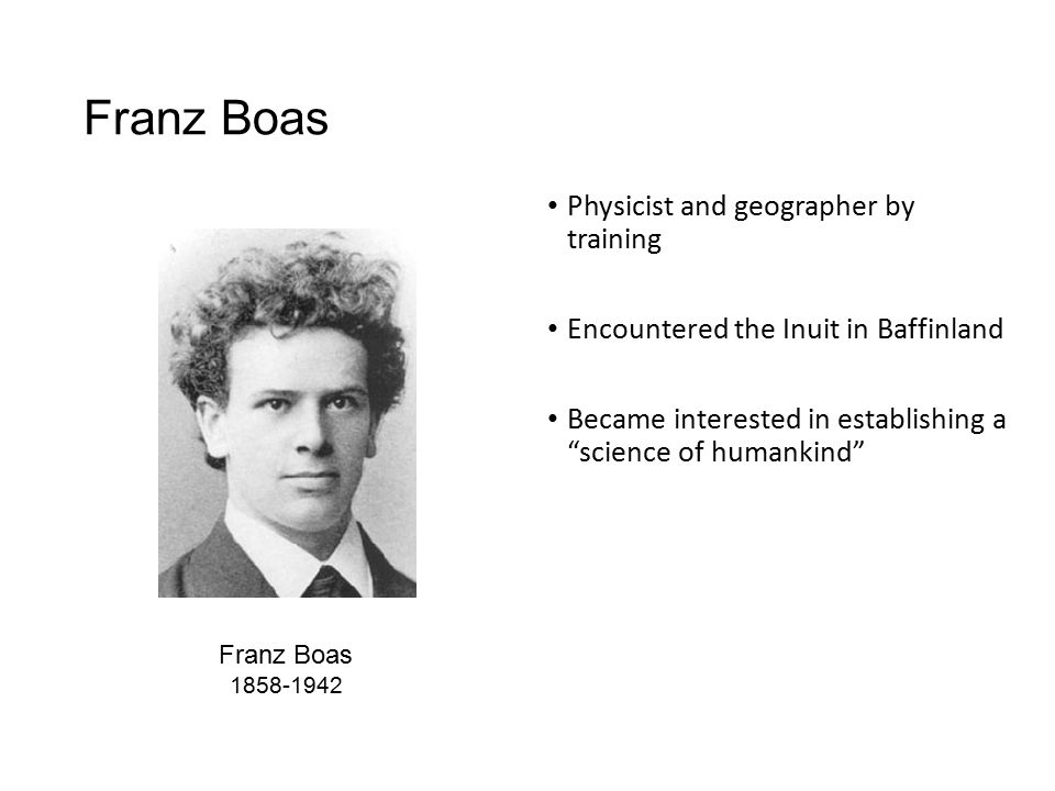 an analysis of franz boas views about culture and fashion Its leading opponent was franz boas, whose main disagreement with the evolutionists involved their assumption that universal laws governed all human culture boas argued that these nineteenth-century individuals lacked sufficient data (as did boas himself) to formulate many useful generalizations.