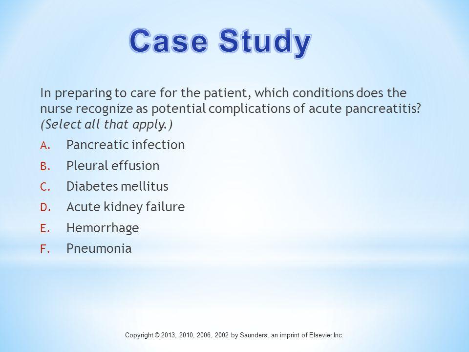 pancreatitis case study powerpoint
