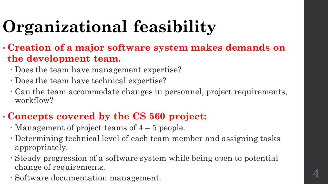 Feasibility Studies CS 560 Lecture 2 2/2/ ppt video online download