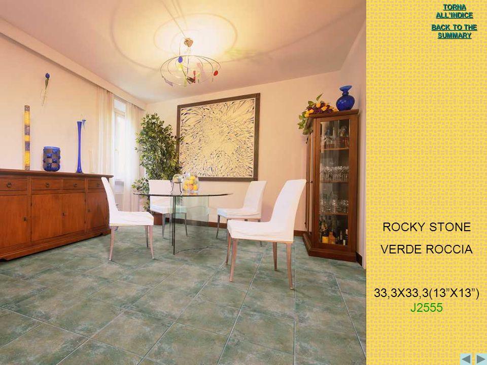 ROCKY STONE VERDE ROCCIA 33,3X33,3(13 X13 ) J2555 TORNA ALL'INDICE
