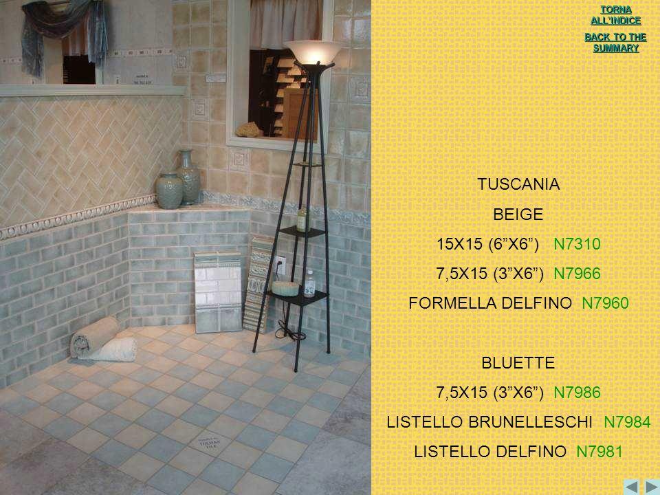 LISTELLO BRUNELLESCHI N7984