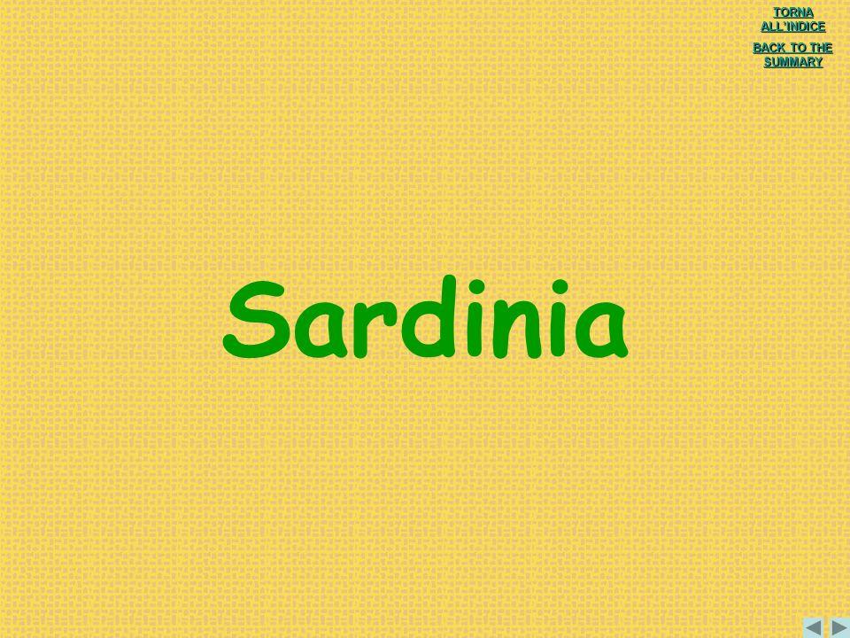 Sardinia TORNA ALL'INDICE BACK TO THE SUMMARY