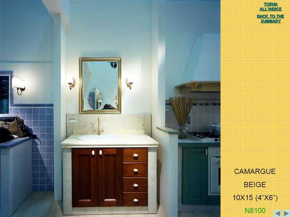 CAMARGUE BEIGE 10X15 (4 X6 ) N8100 TORNA ALL'INDICE