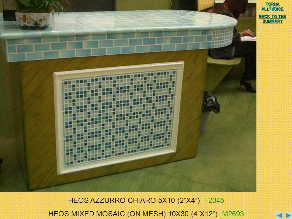 HEOS AZZURRO CHIARO 5X10 (2 X4 ) T2045