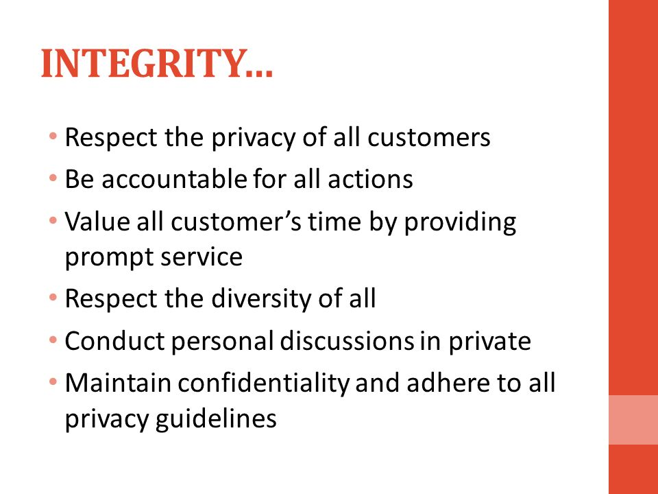 integrity confidentiality and professional behavior of The code of ethics and guidelines for professional conduct is the mechanism by integrity in professional code of ethics and guidelines for professional.