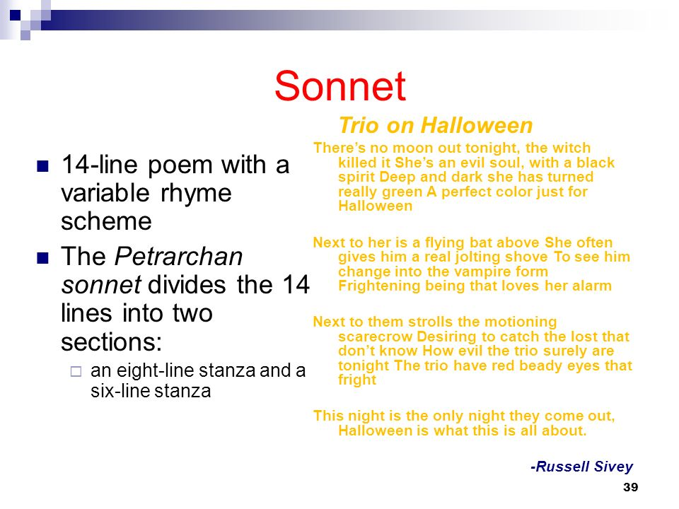 poetry and sonnet How to write a sonnet: description and explanation of the sonnet, a poetry form from italy.