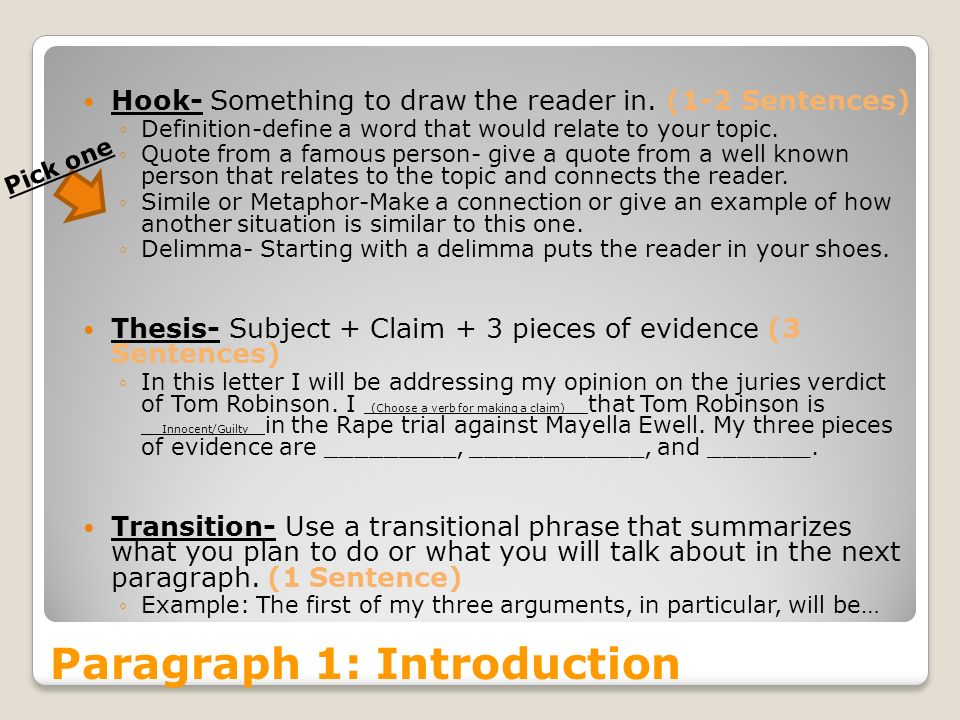 Connotation thesis examples for essays