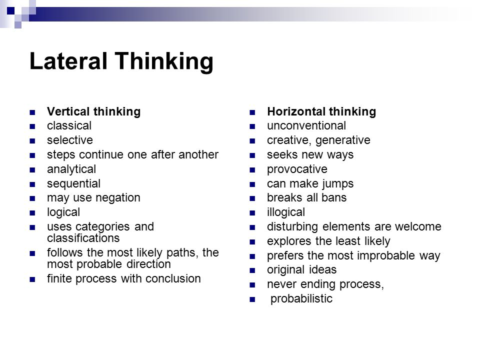the use of lateral thinking pdf