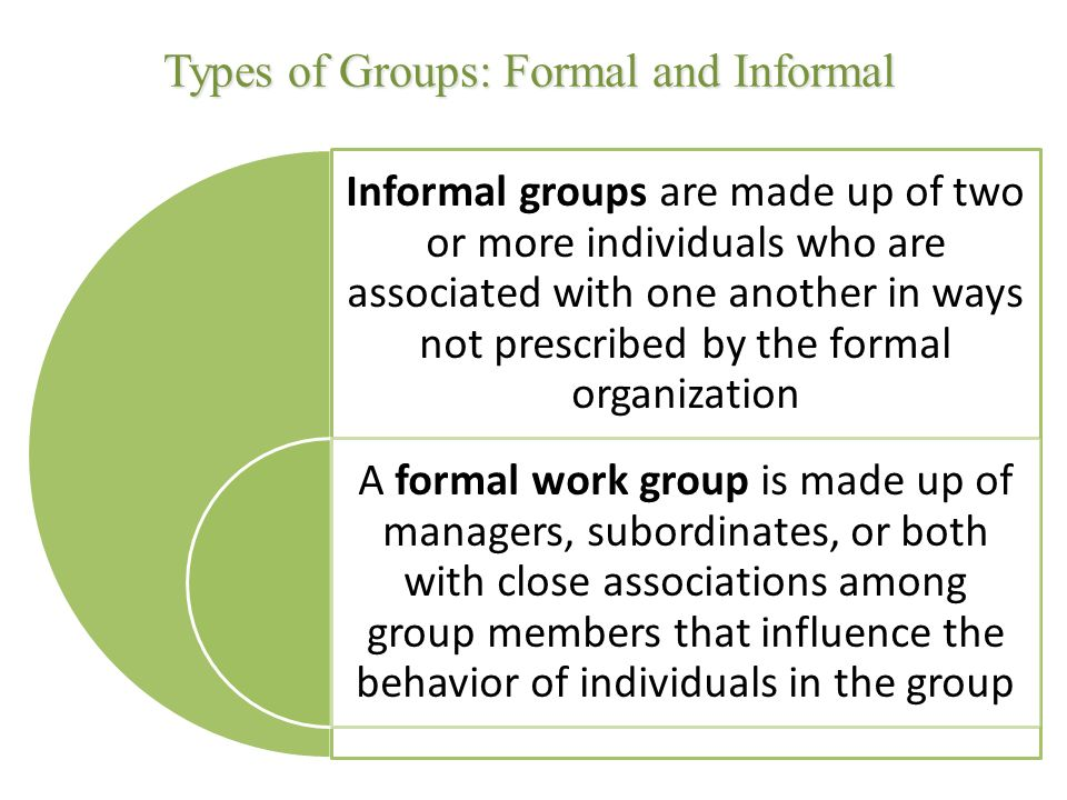 Evolution of Formal Organizations