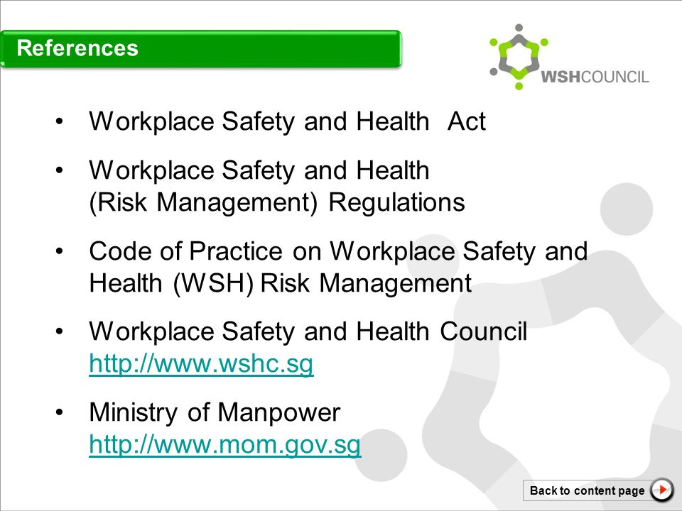 management workplace health safety risk management system Of occupational safety and health risk management is  health and safety management systems  for safety and health at work, risk assessment.