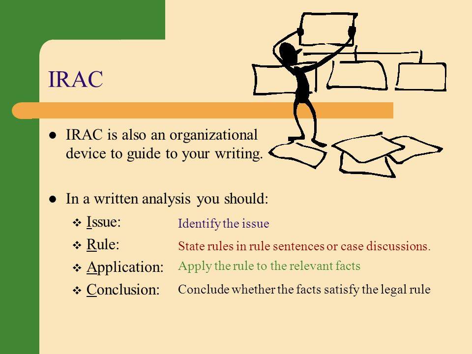 irac law essay