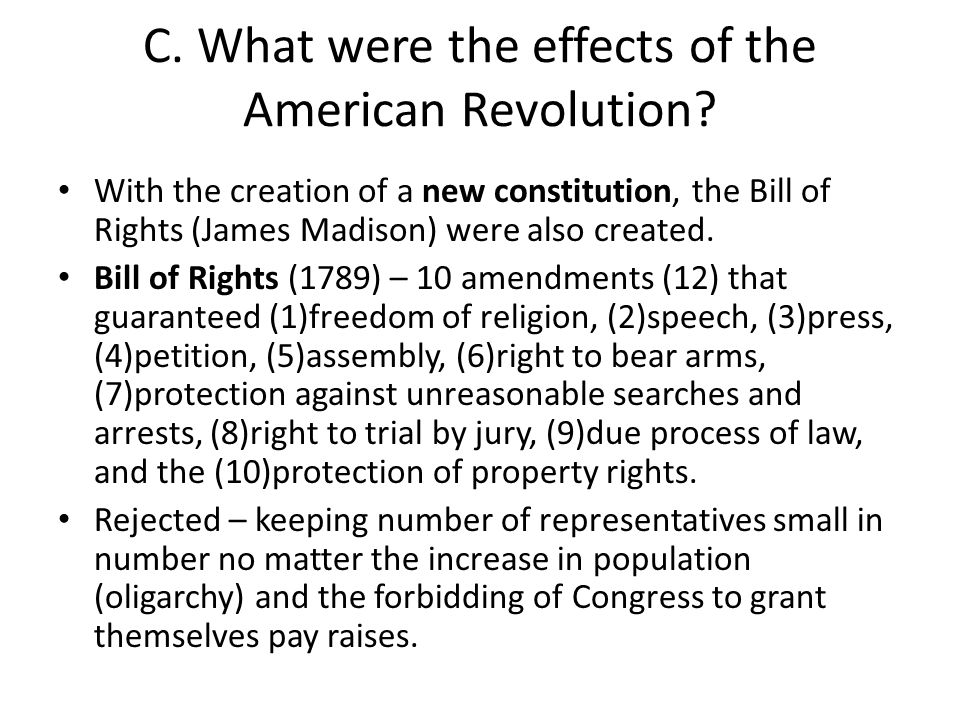 American revolution centered on property rights