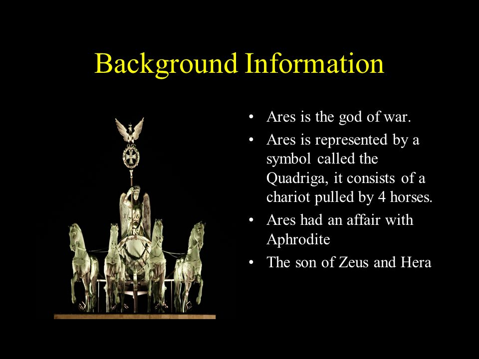 ares symbols greek god chariot mars clipart etc