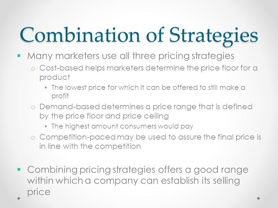 10 Combination Of Strategies