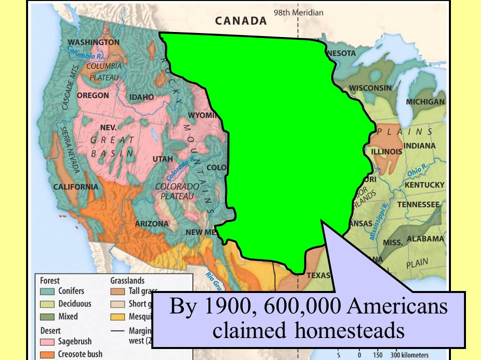 Essential question what factors led to the settlement of the west 13 by 1900 600000 americans claimed homesteads publicscrutiny Choice Image