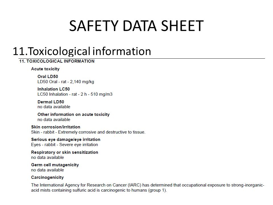 Workp Hazardous Materials Information Systems and the Globally ...