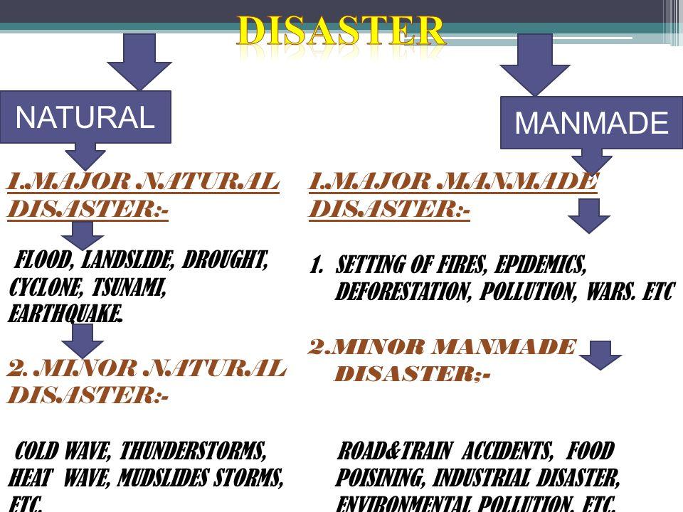 minor natural disaster
