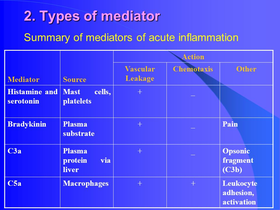 Inflammatory Mediator - ppt download