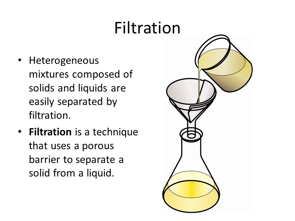 seperation of a mixture of solids A separation process is a method that converts a mixture or solution of chemical substances into  hydrophobic solids by attachment to air bubbles generated by .