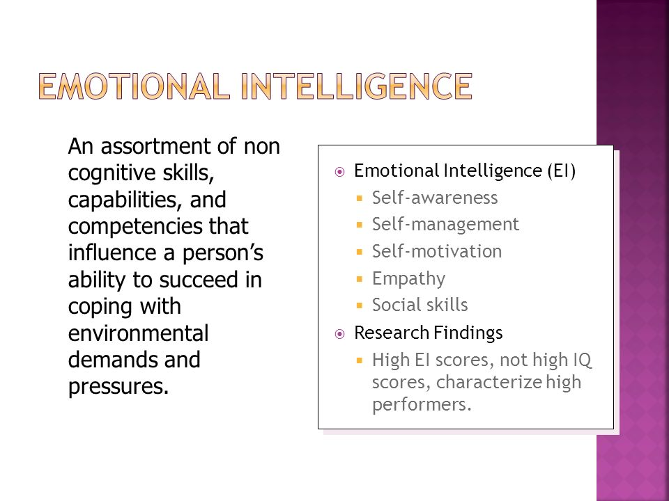 "emotional and cognitive intelligence A assessment name: cognitive intelligence and emotional intelligence in modern organisations ""intelligence is an abstract concept for whose definition continues to evolve with modernity."