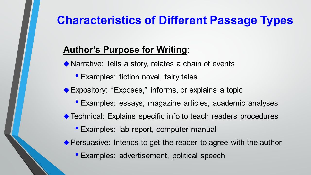 what is the difference between narrative and expository text