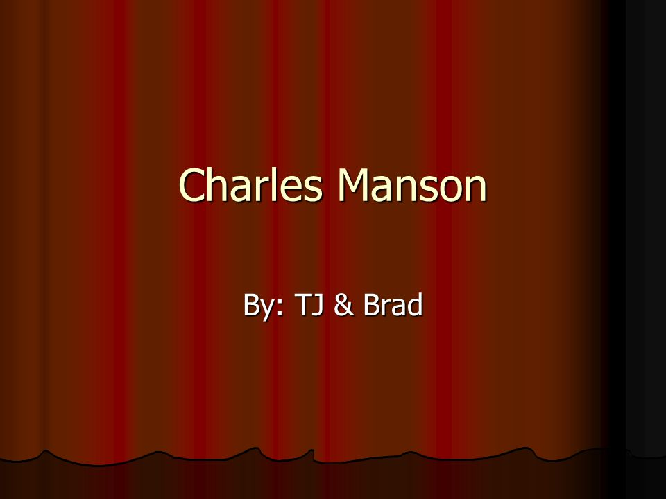 maslows developmental theory of charles manson Start studying maslows human needs theory learn vocabulary, terms, and more with flashcards, games, and other study tools.