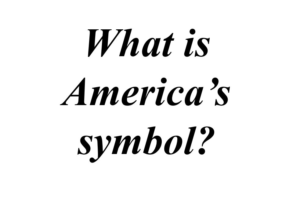 What is America's symbol
