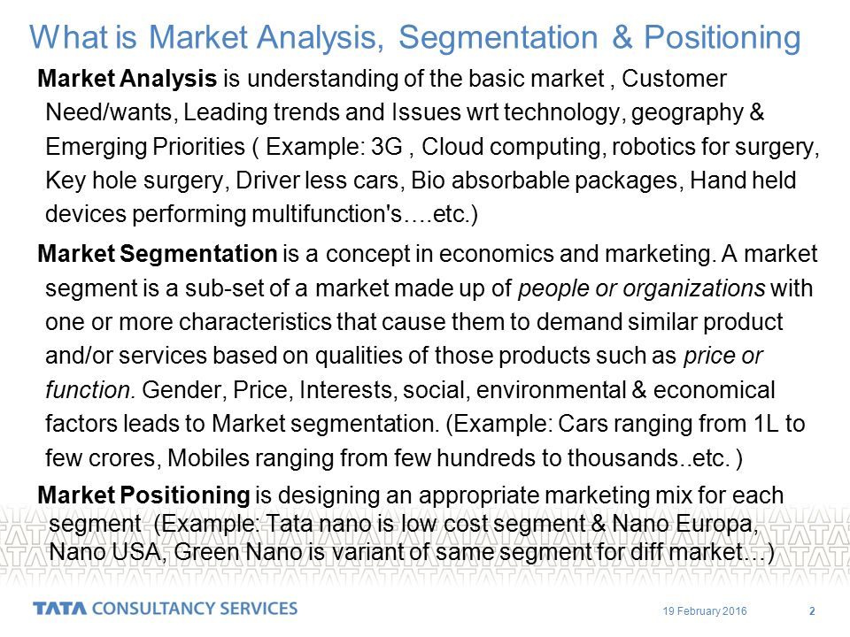 Market Analysis  Segmentation Rev Ppt Video Online Download