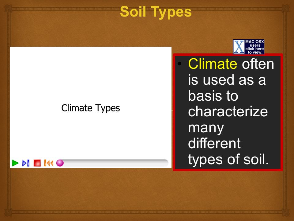 Soil soil is a mixture of weathered rock organic matter for Different types of soil and their uses