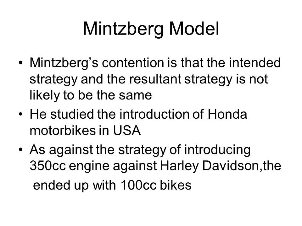 crafting strategy by mintzberg In this respect, the practice of crafting embodied metaphors in strategy is   exploring the source domain of mintzberg's initial metaphor of 'strategy as craft' in .
