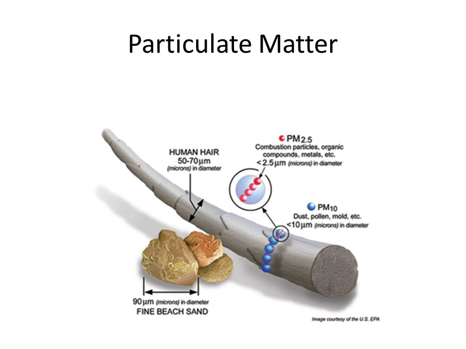 particulate matter health effects Particulate matter pollution in iraq and afghanistan although particulate matter (pm) emissions from natural and man-made sources are found worldwide (pm) exposure data to respiratory.