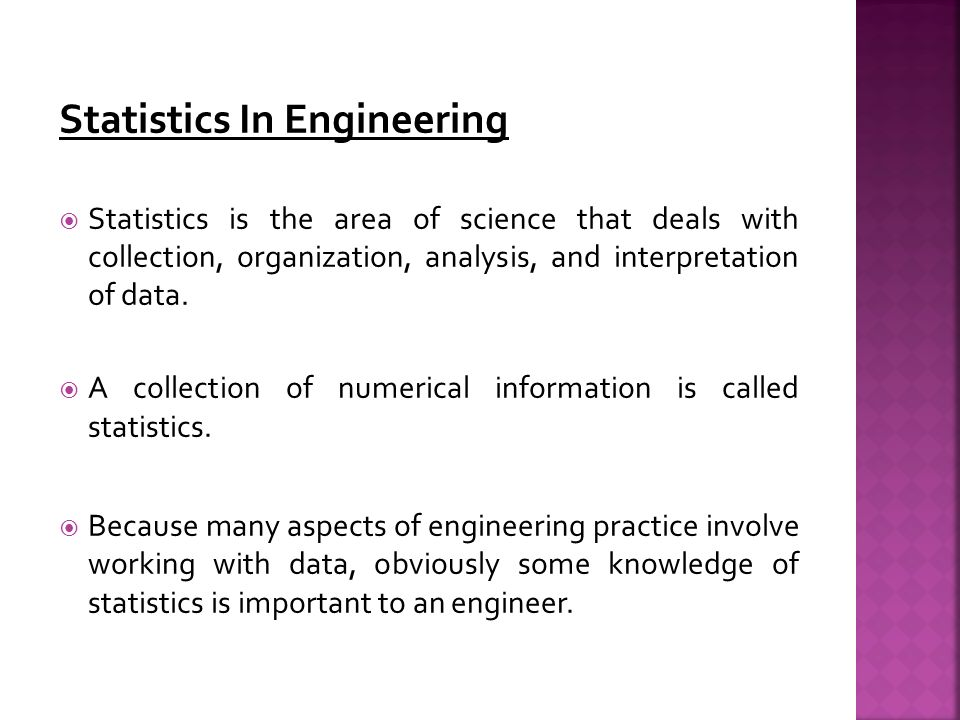 importance of statistics in collecting organizing Organizing your social sciences research paper data are in the form of numbers and statistics, often arranged in tables to collect numerical data.